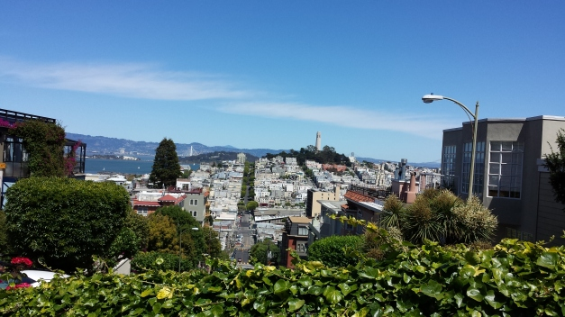Take a drive (or walk) down Lombard Street
