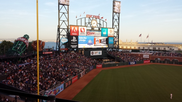 Baseball fan?  If it's during the season, catch a game!  Be sure to buy tickets in advance... most Giants games are sold out games.  With this view, how could you blame the fans?  (oh, yeah, and their home team isn't too shabby, either)